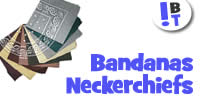 Cotton Bandanas and Neckerchiefs - Bikers / Fashion / Leisurewear
