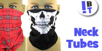 Neck Tubes / Tube Bandanas / Neck Gaiters for Men and Women - Page 13