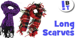 Long Scarvers, Shawls and Pashminas