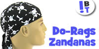 Zandanas / Head Wraps / Du-Rags for Bikers, Chemo, Leisurewear