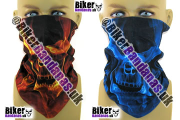 Vaporising Skulls Multifunctional Headwear in two colours