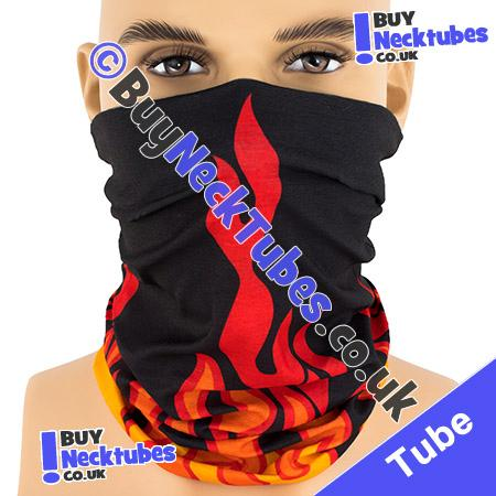 Twisted Tribal Flames Multifunctional Headwear / Neck Tube Bandana / Neck Warmer