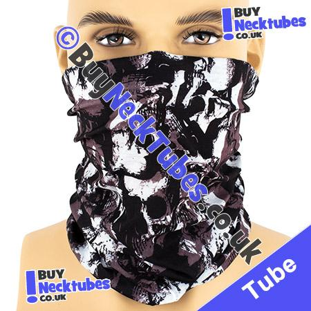 Grunge Skulls Multifunctional Headwear / Neck Tube Bandana / Neck Warmer