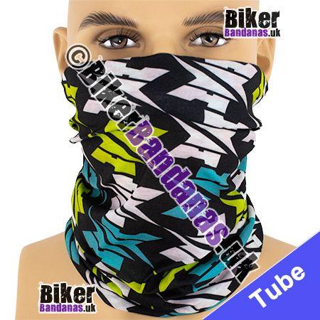 Giant Dogtooth Check Multifunctional Headwear / Neck Tube Bandana / Neck Warmer