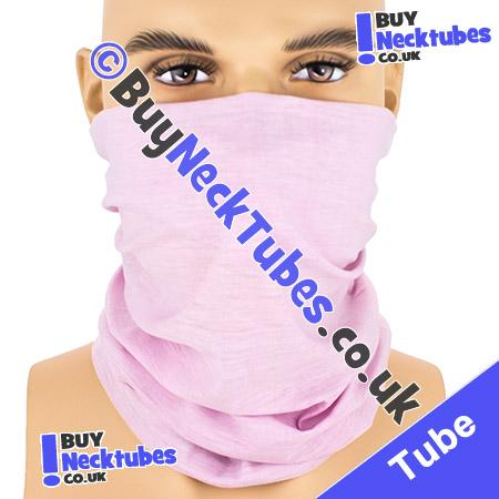 Plain Pale Slate Pink Multifunctional Headwear / Neck Tube Bandana / Neck Warmer