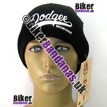 Illicit Misery Streetwear Dodgee Mother F***** Beanie Hat
